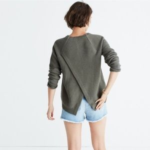 Madewell Province Open Back Sweater